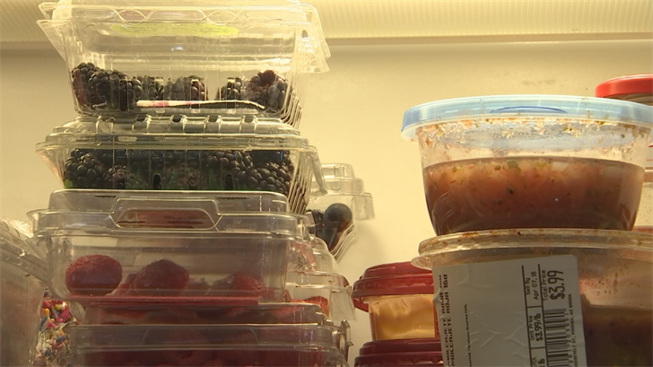 If you have a jam-packed fridge, your food won't cool as quickly and that means certain items could go bad! (Source: 3TV/CBS 5)