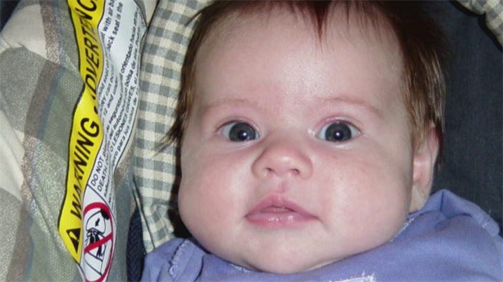 Brown's 3-month-old baby girl, Amberlee, died after being pulled from a hot car in June 2007. (Source: 3TV/CBS 5)