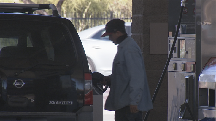 AAA said Arizona gas prices are the highest they've been in years. (Source: 3TV/CBS 5)