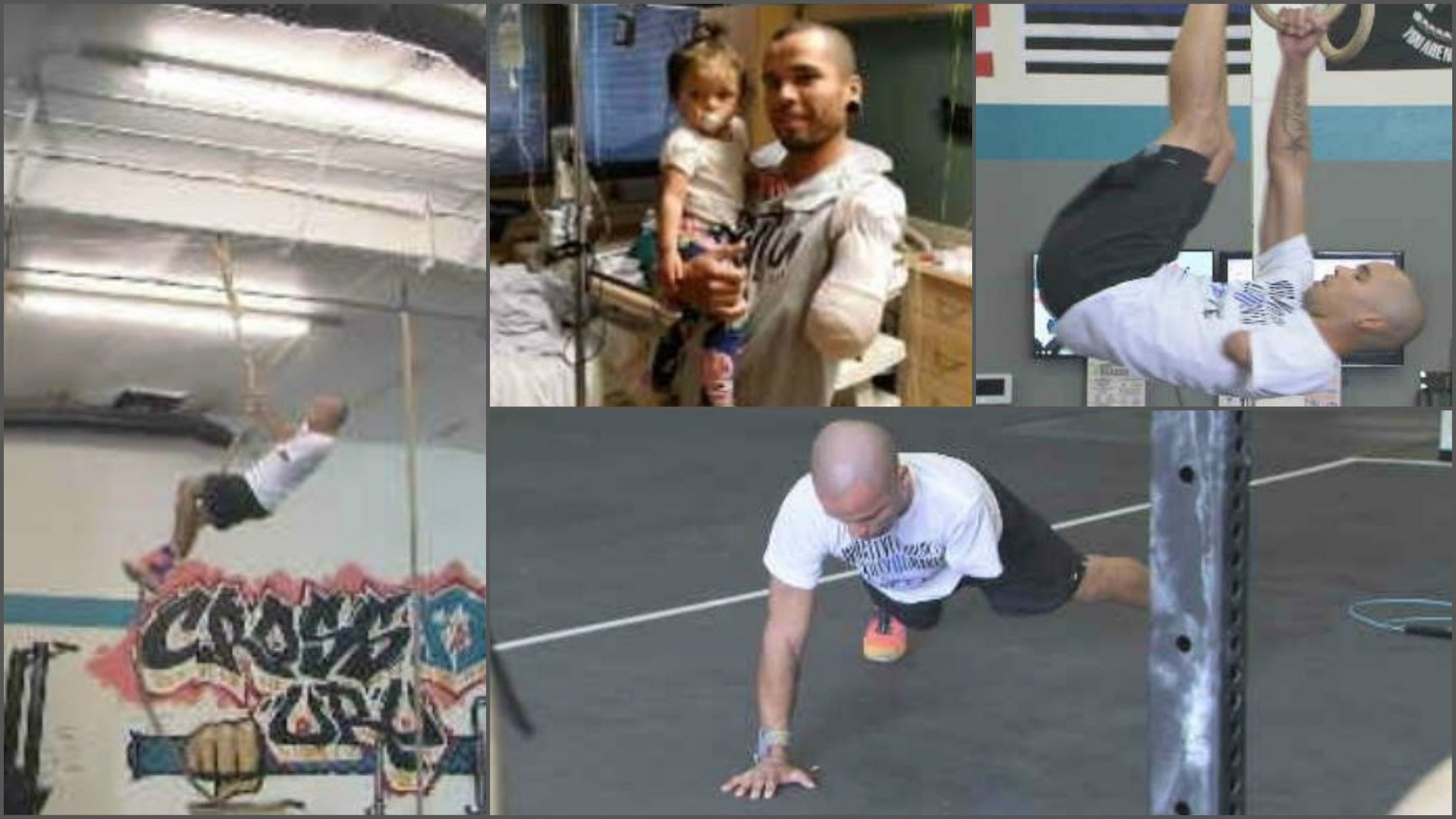 Jeremy Ogle has overcome amputation to become a gold medalist in adaptive CrossFit. (Source: 3TV/CBS 5)