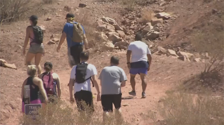 Hikers should have cellphones in case they get into trouble. (Source: 3TV/CBS 5)