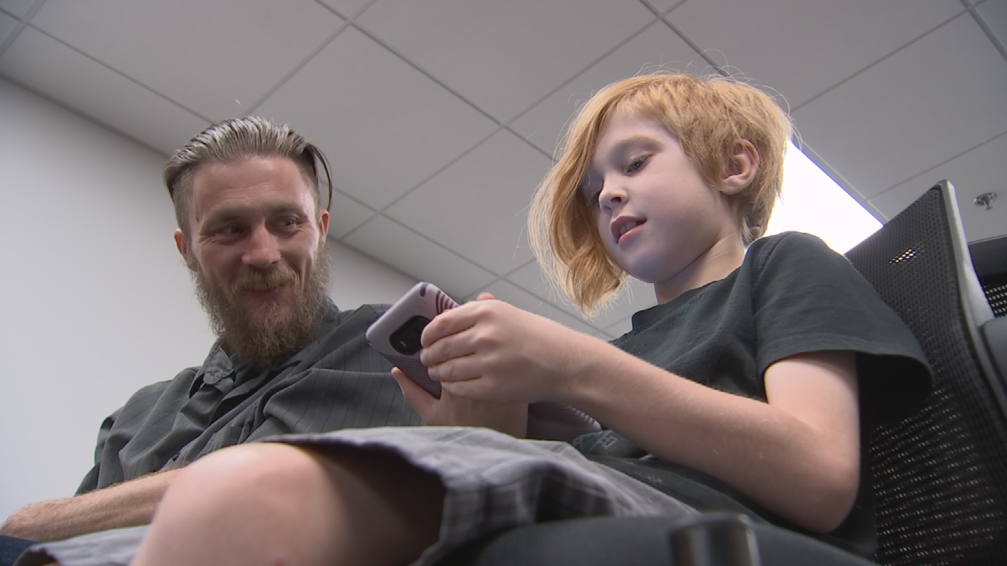 Technically, she's allowed to give him medical marijuana for his seizures, not his autism, but she says the plant has had life-changing effects on him and their family. (Source: 3TV/CBS 5)