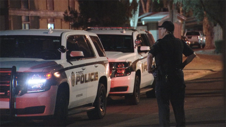 Glendale police were dispatched to a stabbing near 65th and Montebello avenues late Tuesday night. (Source: 3TV/CBS 5)