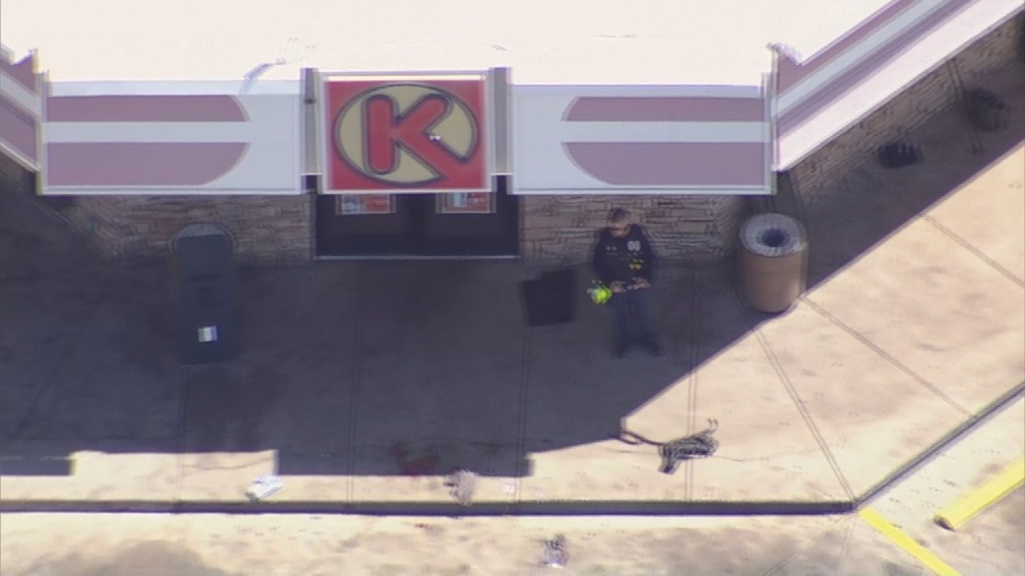 Officer-involved shooting at Circle K at 19th Ave. & Grant Street (Source: 3TV/CBS 5)