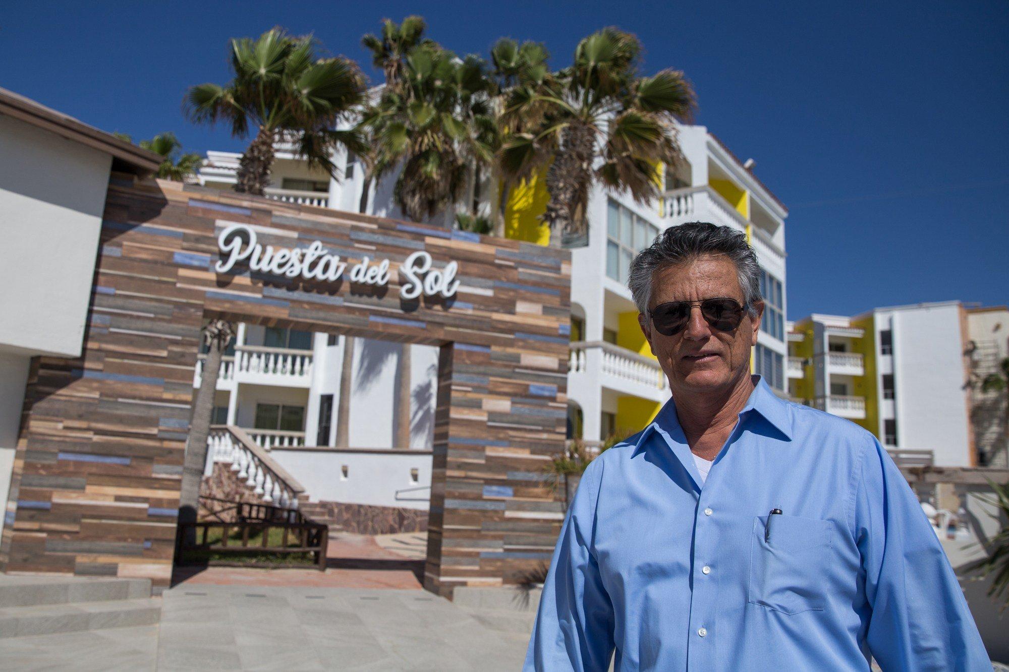 Oscar Palacio, owner of Playa Bonita Resort in Puerto Peñasco, said he believes more safety corridors should be implemented in Mexico. (Source: Angel Mendoza/Cronkite News)
