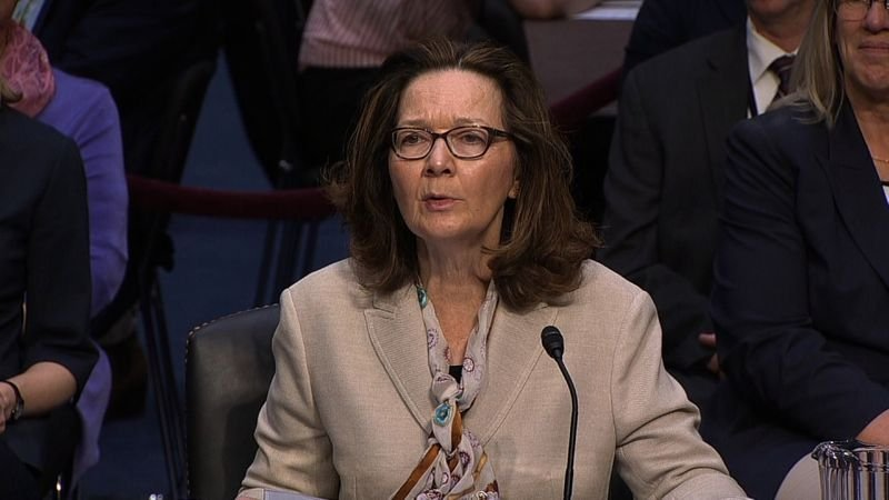 The fate of Gina Haspel's nomination to be the first female director of the CIA may come down to her performance in a situation until this morning she's never before encountered: a Senate confirmation hearing. (Source: CNN)