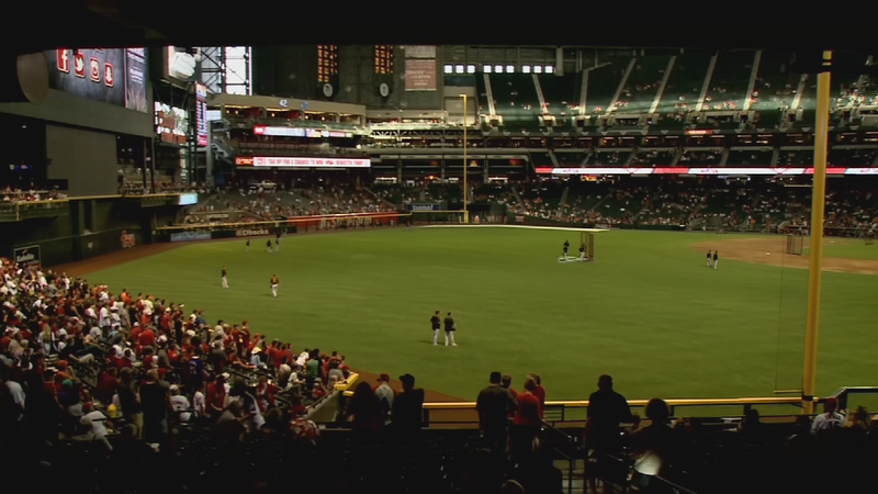 The Arizona Diamondbacks will be celebrating Mother's Day this Sunday with an evening game vs. the Washington Nationals at Chase Field. (Source: 3TV/CBS 5)