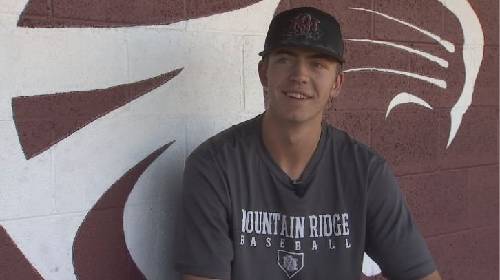 Mountain Ridge pitcher Matt Liberatore is trying to lead his team to a state championship.