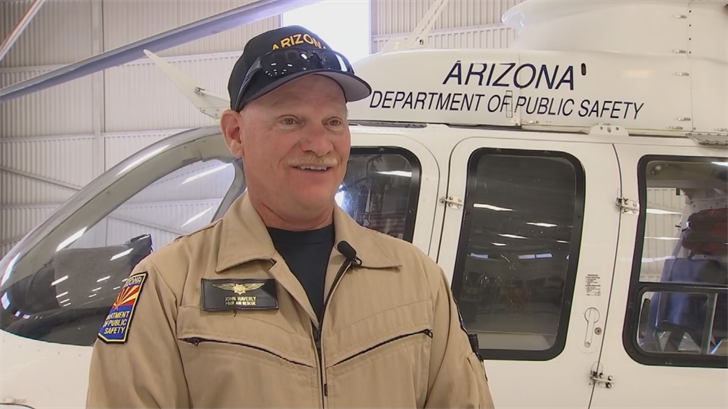 Haverly, an Army-trained pilot with more than 40 years experience, brought the damaged helicopter safely in a large and conveniently-located pasture. (Source: 3TV/CBS 5)