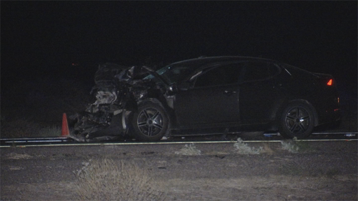 At least one person is dead after a crash on eastbound Interstate 10 past Riggs Road early Friday morning. (Source: 3TV/CBS 5)