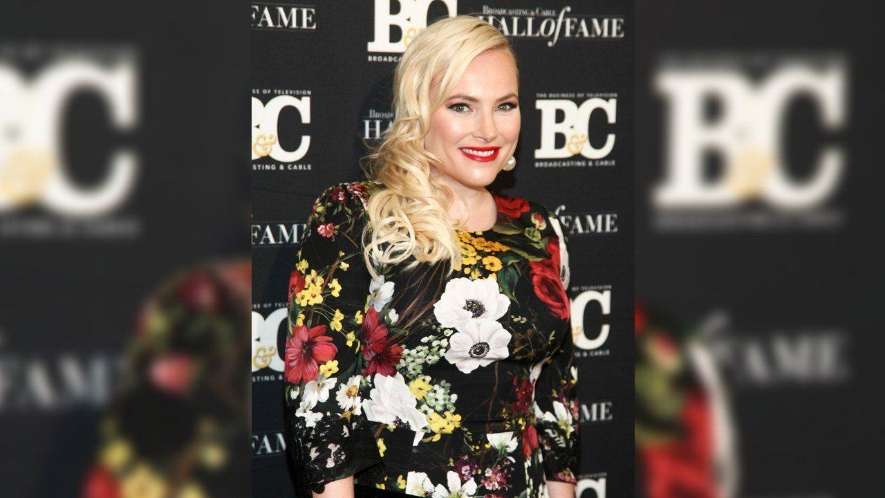 Meghan McCain poses in the press room at the Broadcasting & Cable Hall of Fame Awards 27th Anniversary Gala at the Grand Hyatt New York on Monday, Oct. 16, 2017, in New York. (Photo by Andy Kropa/Invision/AP)