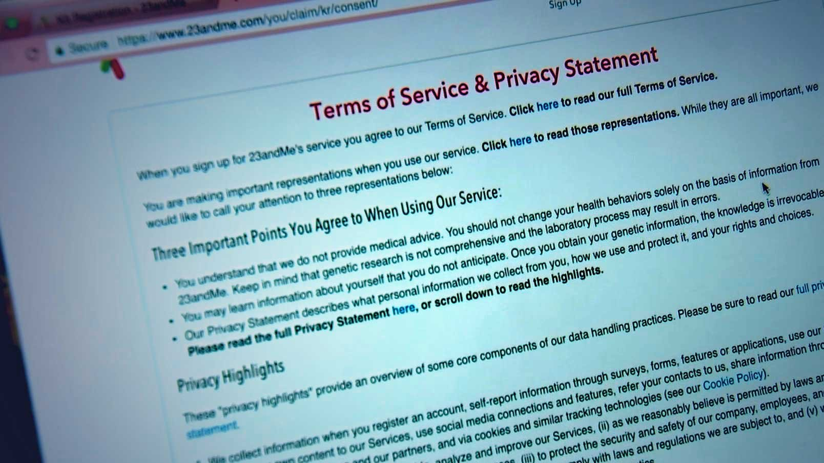 Experts recommend reviewing the privacy policy of the company you choose. Know what the company plans to do with your DNA sample when it's finished testing it. (Source: CBS 5 Investigates)
