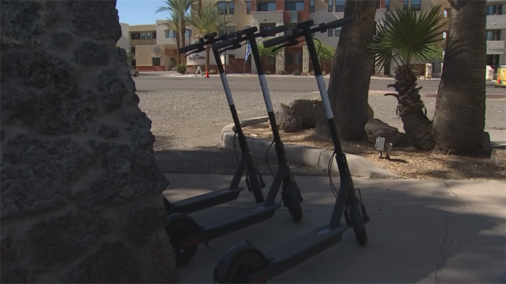 The City of Scottsdale sent Bird a cease-and-desist order, saying that the scooters violate the City's ordinance about motorized skateboards. (Source: 3TV/CBS 5)