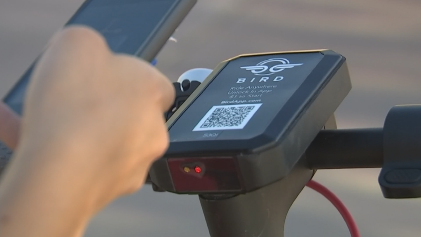 The company says it won't bring any additional scooters to the area unless each one averages at least 3 rides per day. (Source: 3TV/CBS 5)