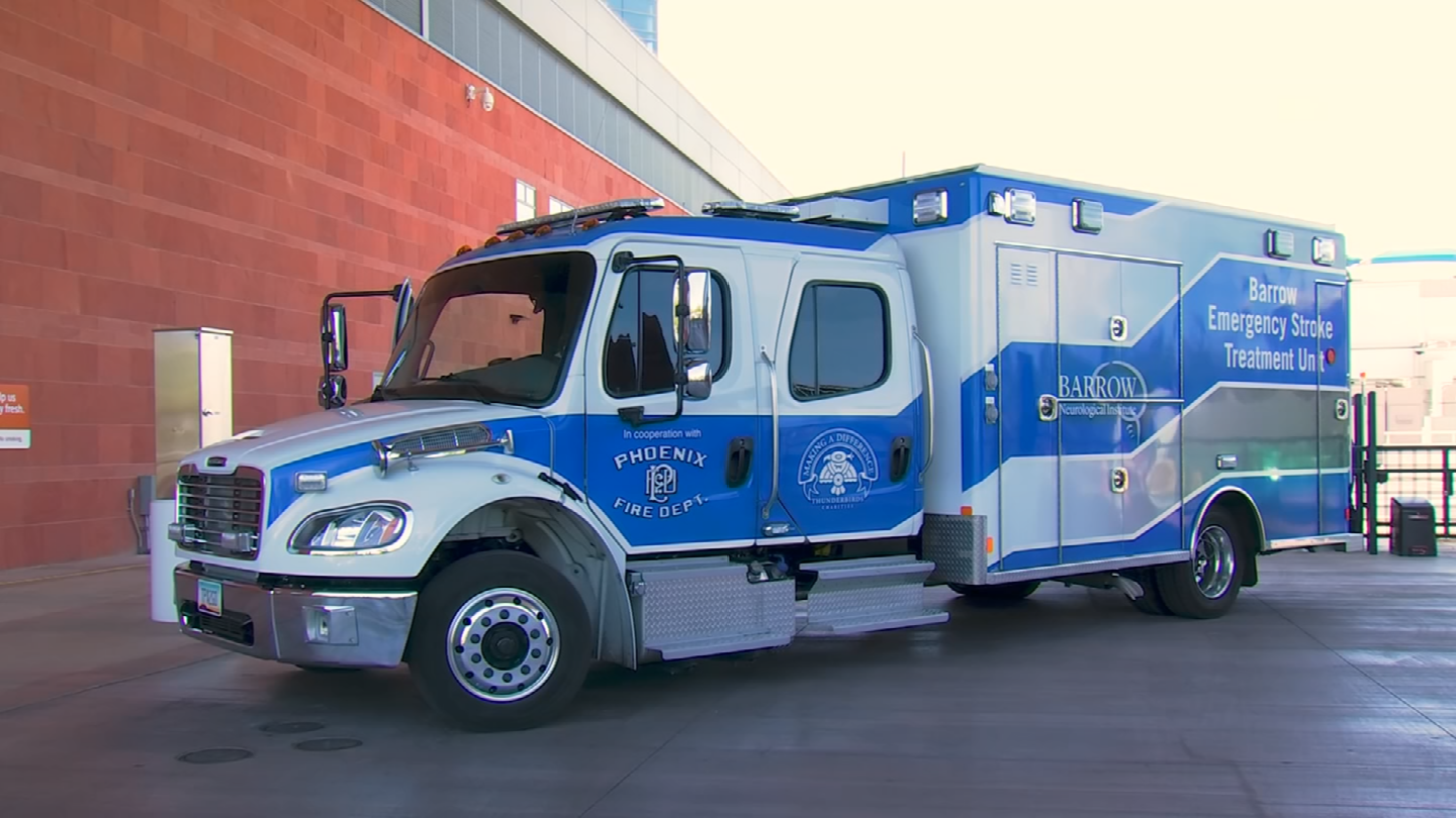 The Barrow Neurological Institute launched this mobile stroke unit last summer. (Source: 3TV/CBS 5)