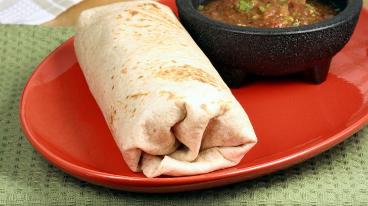 Check out this burrito recipe! (Source: 123rf.com)