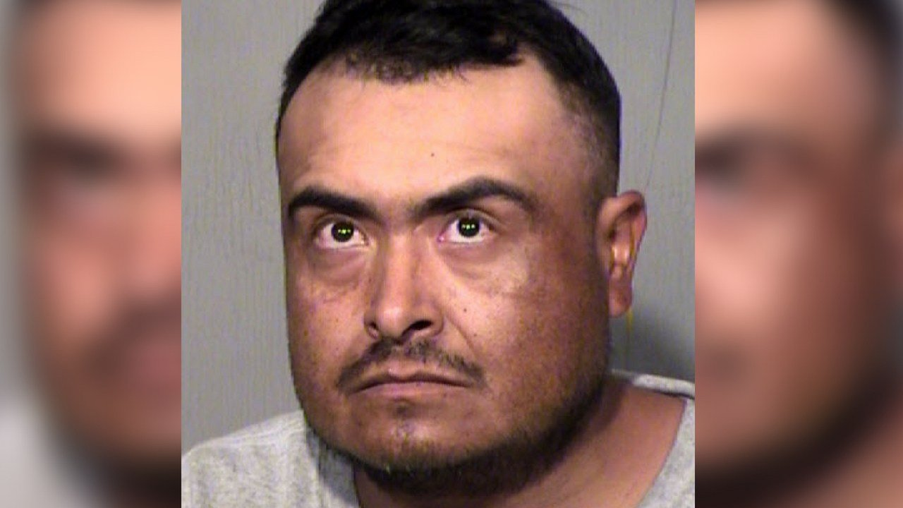 Luis Coss is accused of indecent exposure (Source: Maricopa County Sheriff's Office)
