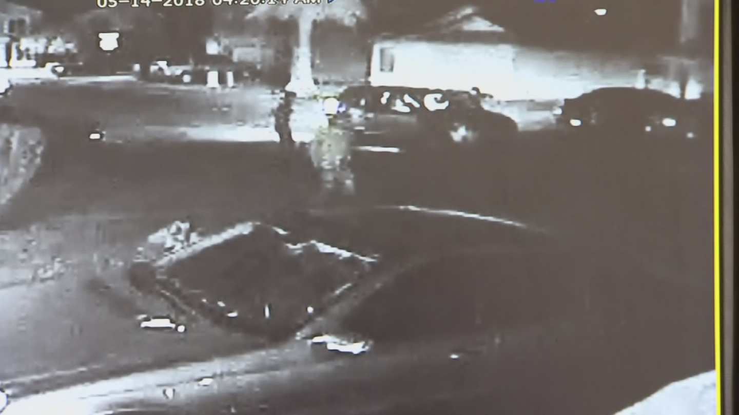 A group of men stole items from cars in a Gilbert neighborhood. (Source: 3TV/CBS 5)