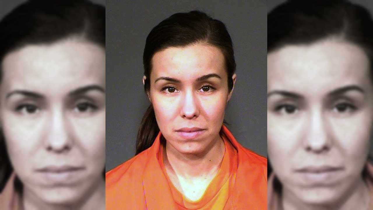 This undated file booking photo provided by the Arizona Department of Corrections shows Jodi Arias. (Source: Arizona Department of Corrections via AP, file)