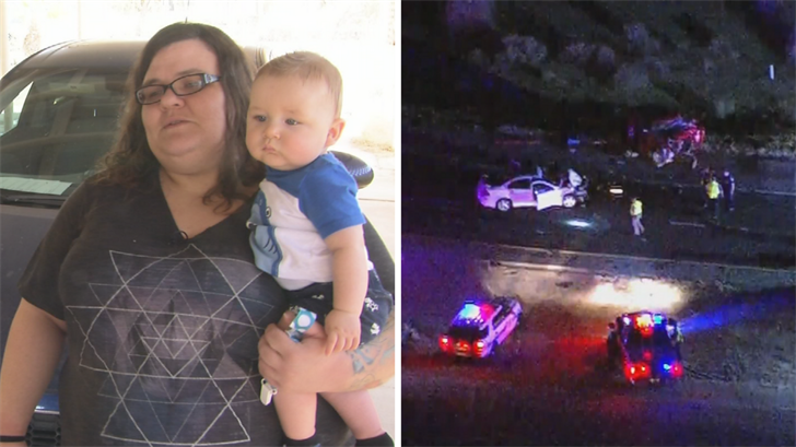 Carrie Call was driving home to Maricopa when she was nearly hit by a 70-year-old wrong-way driver. (Source: 3TV/CBS 5)
