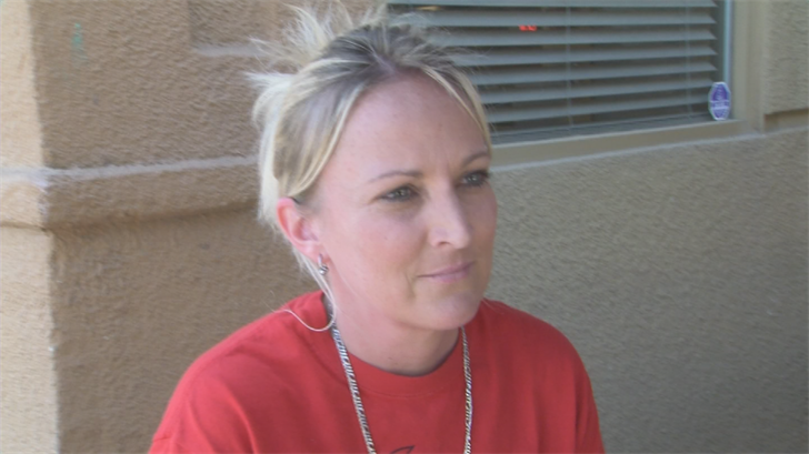 Tami Maddix works in Chandler and saw the wrong-way driver whiz past her driver's side door. (Source: 3TV/CBS 5)