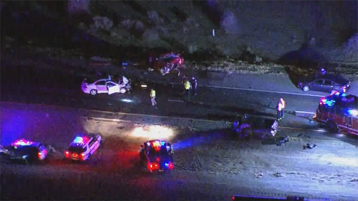 Two people were killed in Monday's crash. (Source: 3TV/CBS 5)