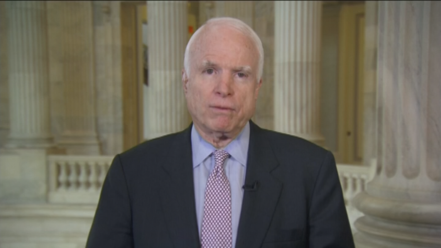 Last summer, Sen. McCain was diagnosed with a life-threatening form of brain cancer and has not returned to the Senate this year. (Source: 3TV/CBS 5)