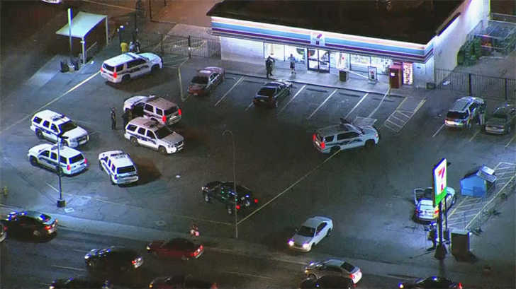 At least 2 men were shot in Phoenix. (Source: 3TV/CBS 5)