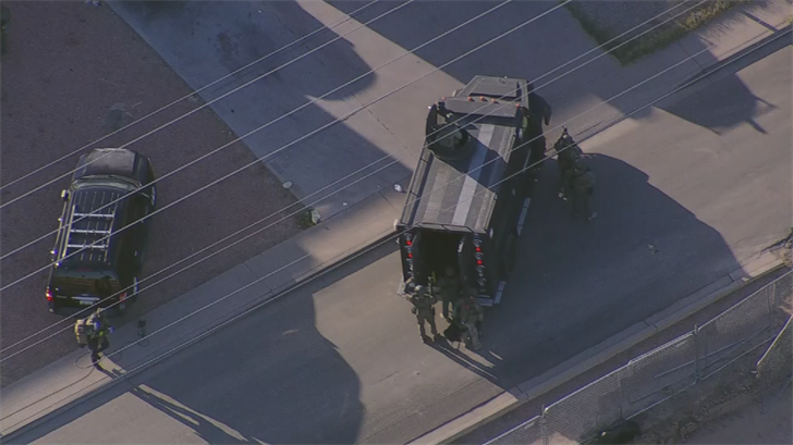 Several SWAT team members were at the scene near 71st Avenue and Bethany Home Road. (Source: 3TV/CBS 5)