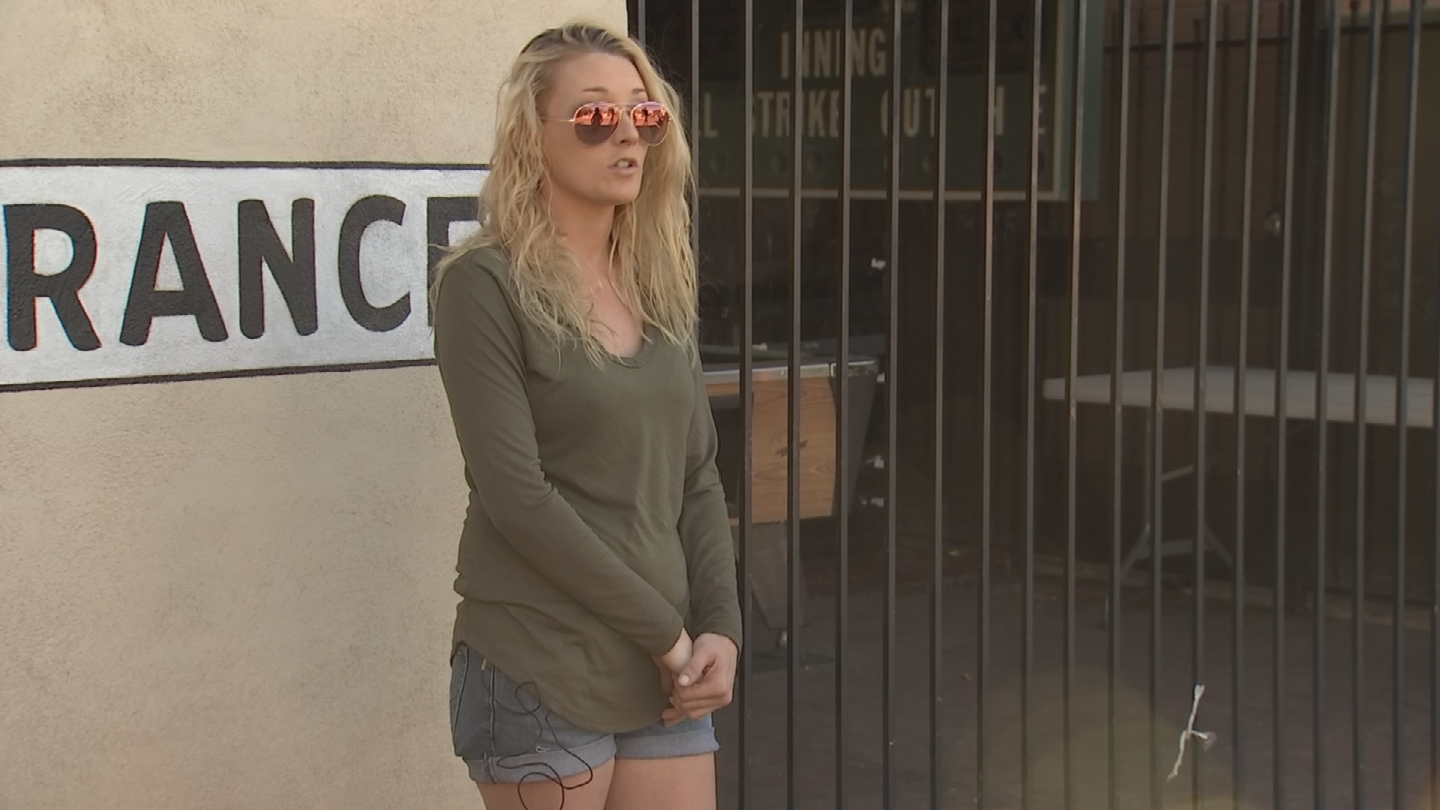 Samantha Tullysaid she had no idea the owners would be closing the restaurant. (Source: 3TV/CBS 5)