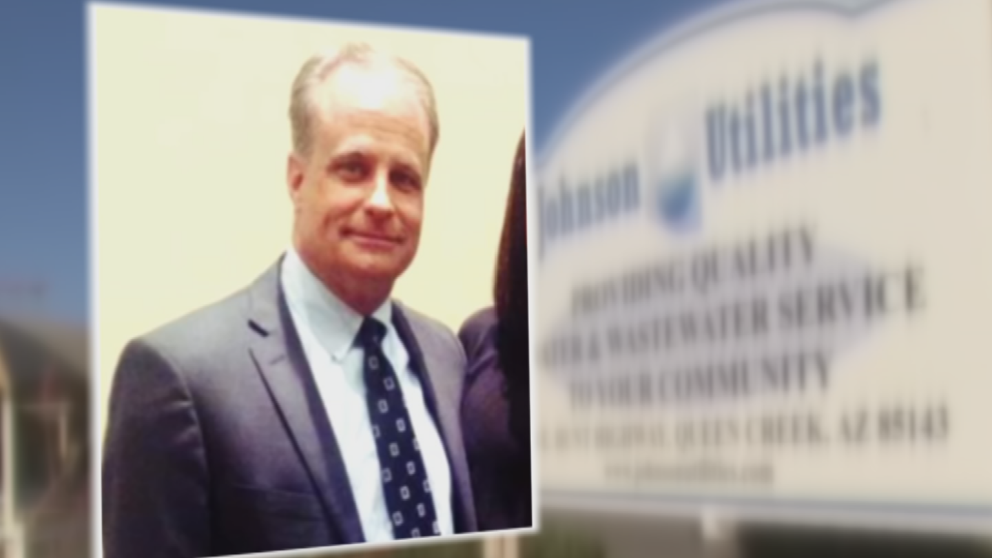 In exchange, federal prosecutors said high-profile lobbyist Jim Norton (pictured) then set up payments of cash and property between Johnson and the Pierces. (Source: 3TV/CBS 5)