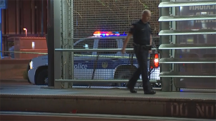 Phoenix police responded to a stabbing at a light rail station near 19th Avenue and Camelback Road around 3:15 a.m. (Source: 3TV/CBS 5)