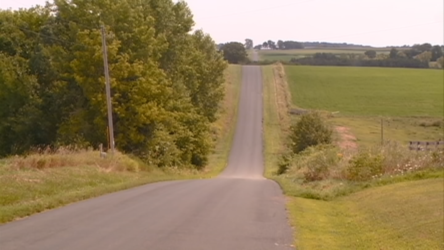 Area near where the unidentified woman was found murdered in Westby, Wisconsin in 1984. (Source: CBS News)