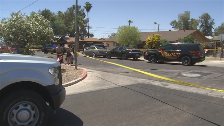 Deputies haven't said what led up to the shooting. (Source: 3TV/CBS 5)