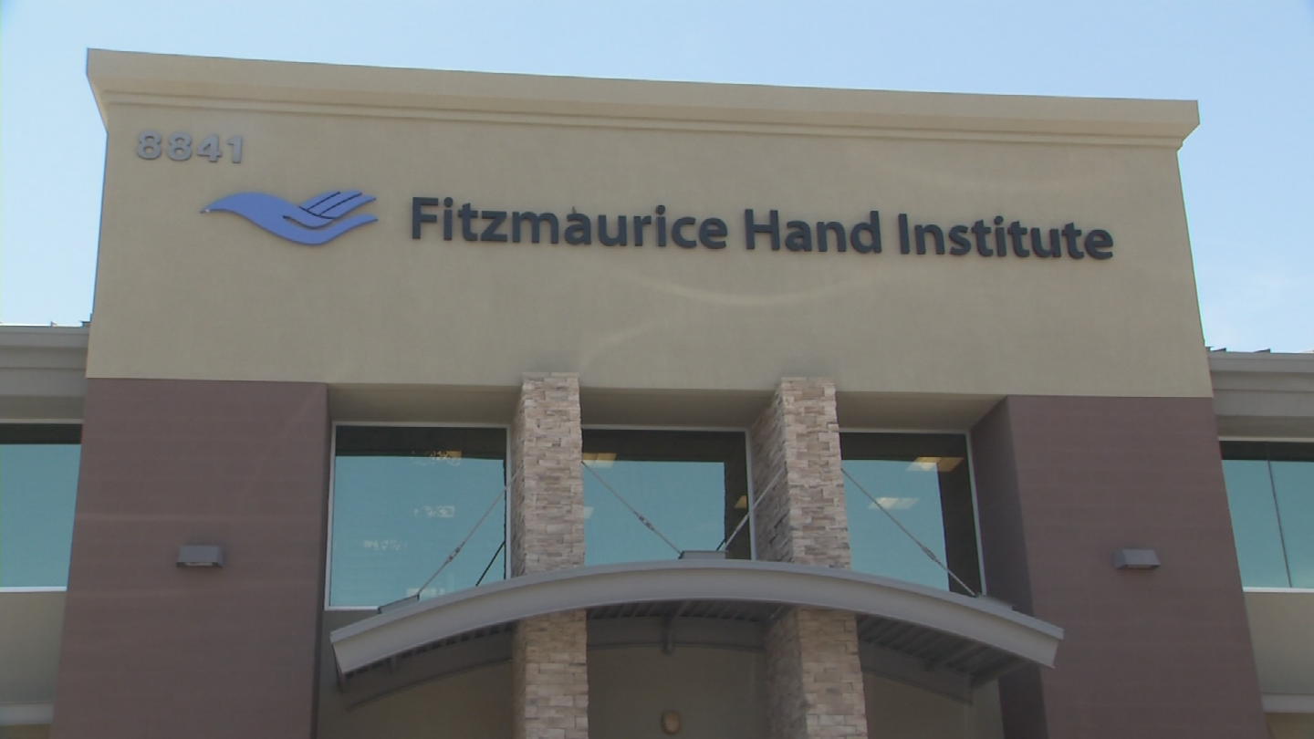 Fitzmaurice Hand Institute is the only place in Arizona where you can be fitted for the device. (Source: 3TV/CBS 5)