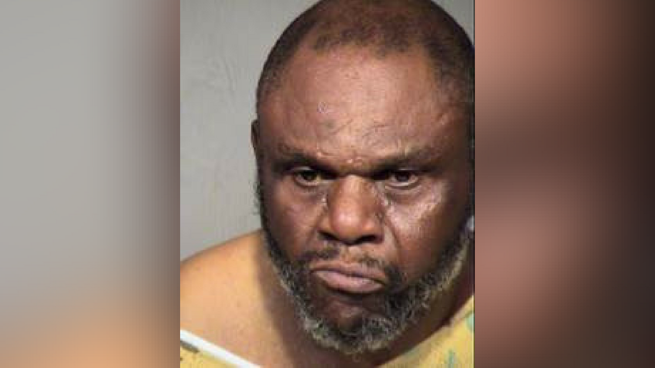 Joel Carson, 53, arrested in connection to a hostage situation at a Phoenix Circle K that left one man dead. (Source: Maricopa County Sheriff's Office)