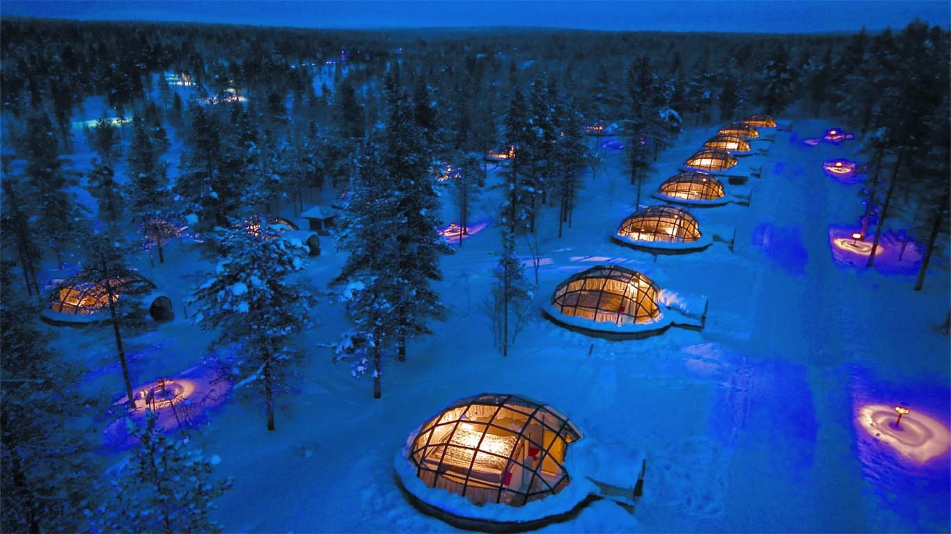 (Source: Kakslauttanen Arctic Resort)
