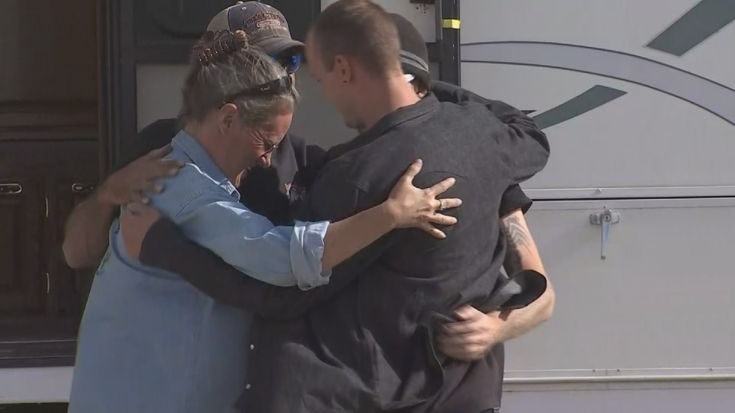 A brand new RV now stands on their property of Ken and Jessica Holgate. (Source: 3TV/CBS 5)
