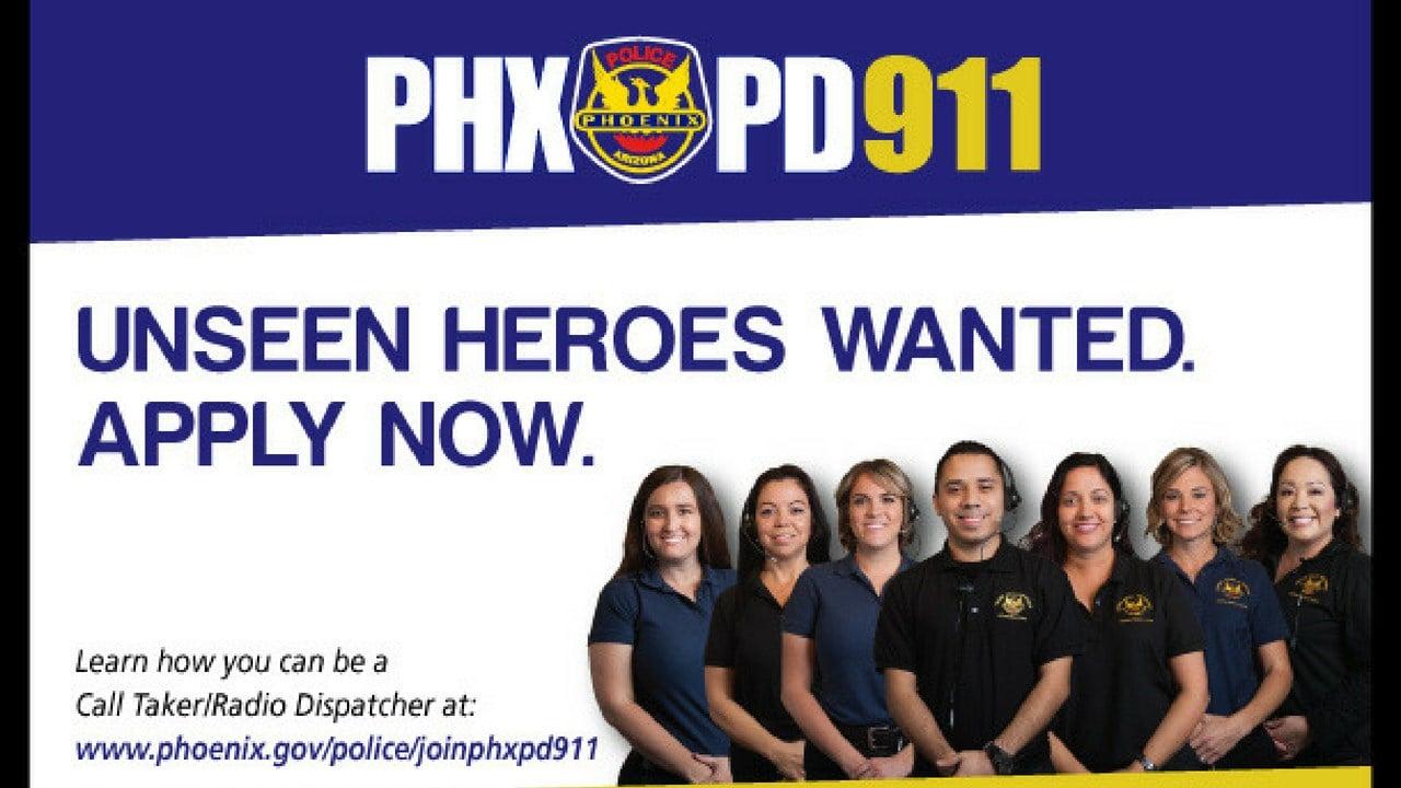 Phoenix Police Dept. hiring dispatchers. (Source: Phoenix Police Dept.)