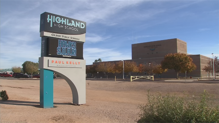 The boy made the comment to another student and it was overheard and adults were notified, police said. (Source: 3TV/CBS 5)