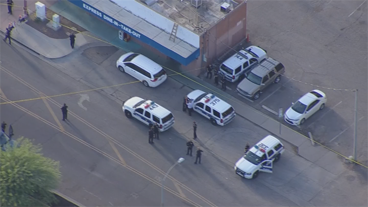 It happened near Central Avenue and Willetta Street. (Source: 3TV/CBS 5)