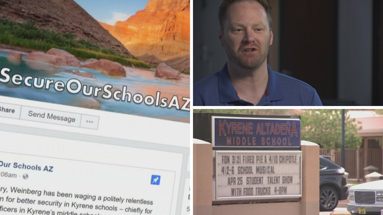 Valley father pushes to have an SRO at his child's school. (Source: 3TV/CBS 5 News)