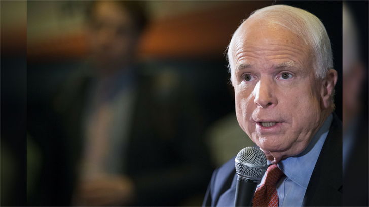 Arizona Republican Sen. John McCain wanted to give the big speech he delivered last summer about Senate dysfunction before he was diagnosed with brain cancer.(Source: CNN)