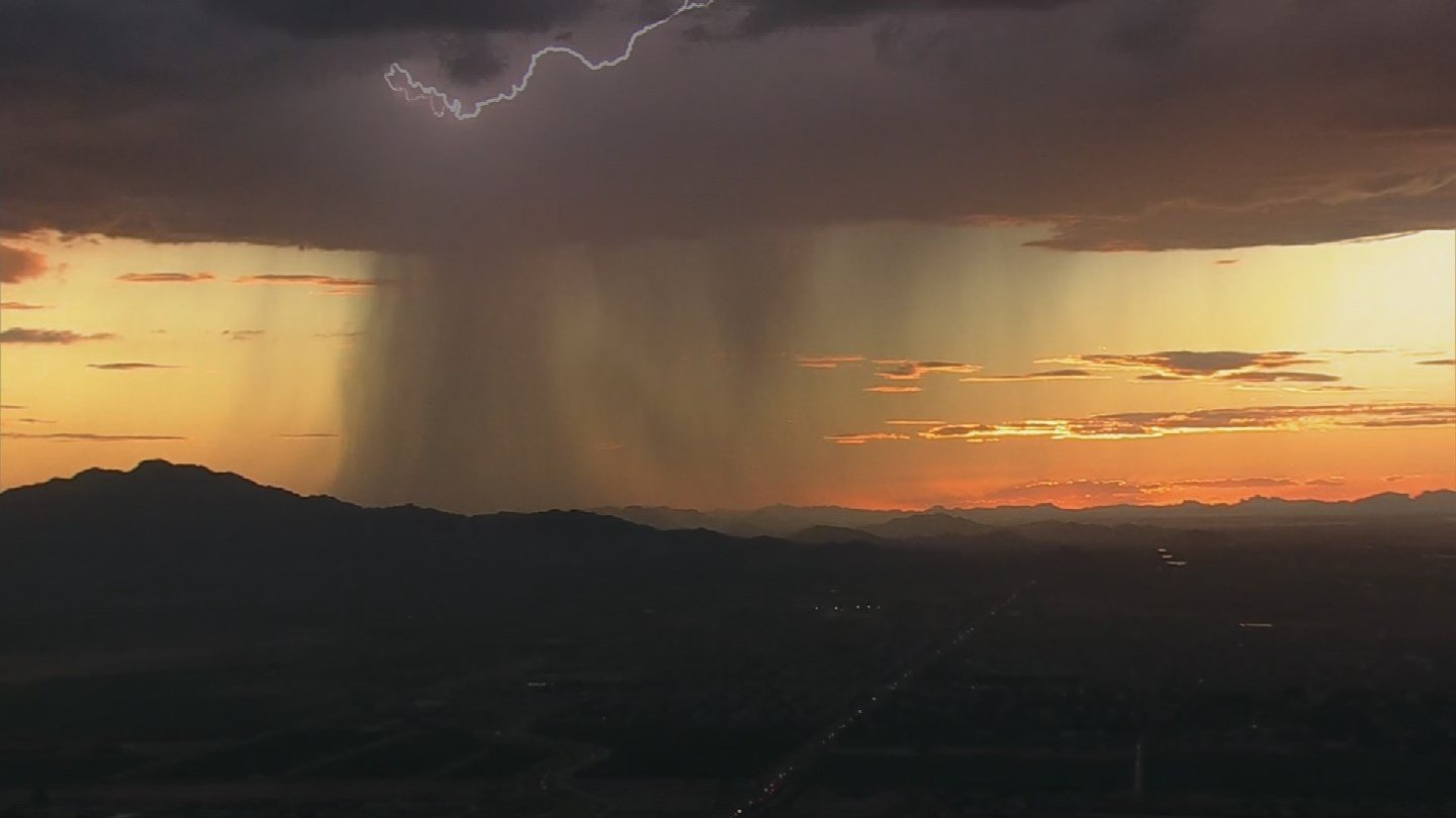 Arizona could see more rain than usual during the monsoon. (Source: 3TV/CBS 5)