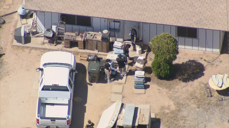 Cat hoarding investigation in Wittmann, AZ (Source: 3TV/CBS 5)