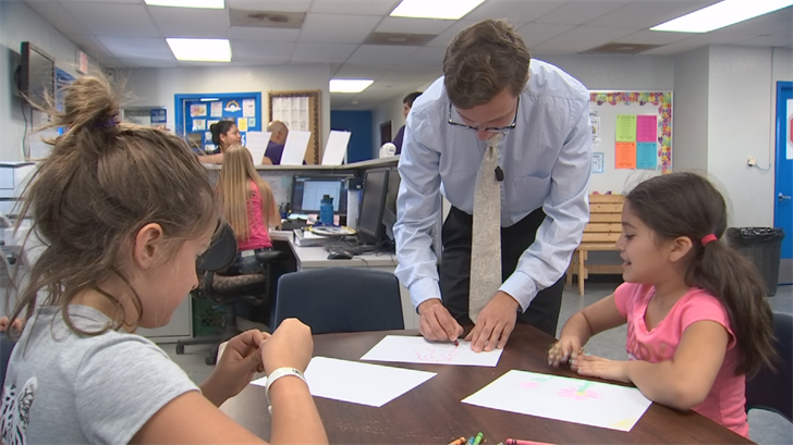 He has words of encouragementfor the students at the Boys & Girls Club that he teaches. (Source: 3TV/CBS 5)