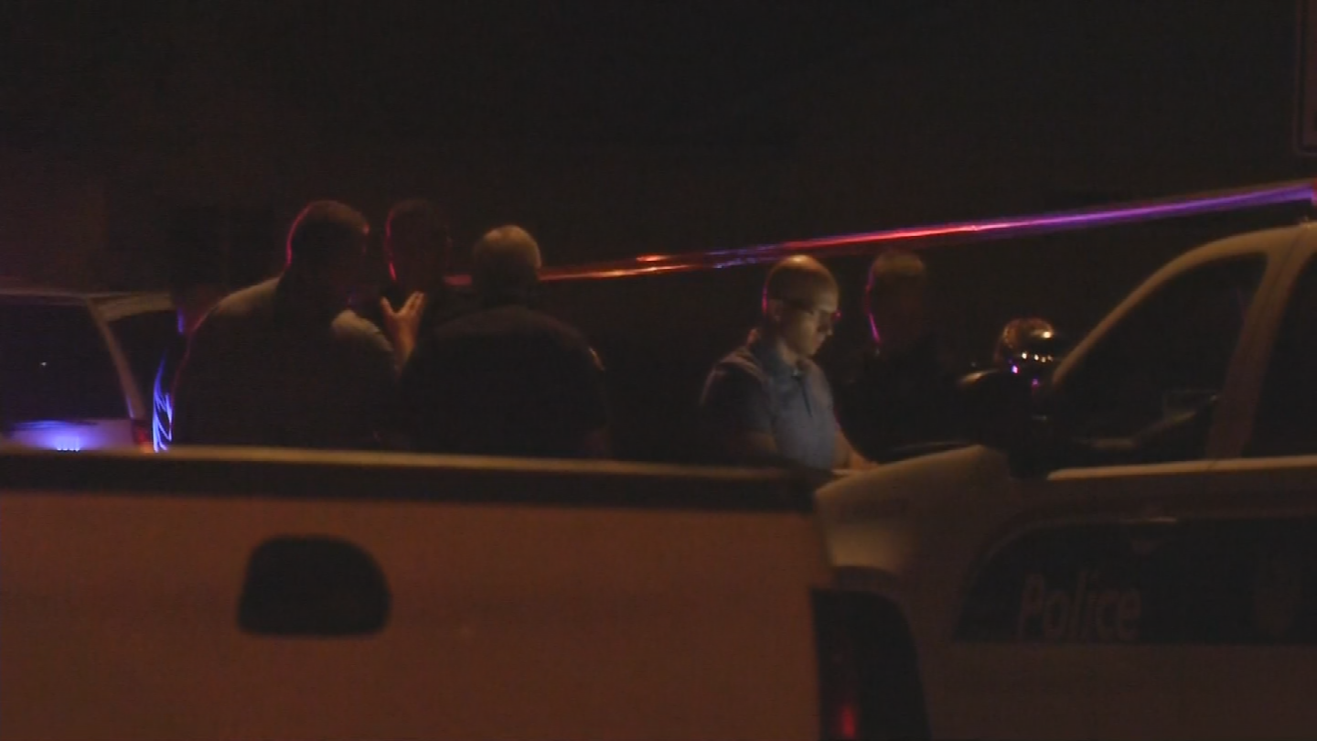 One suspect was shot and another was taken into custody. (Source: 3TV/CBS 5)