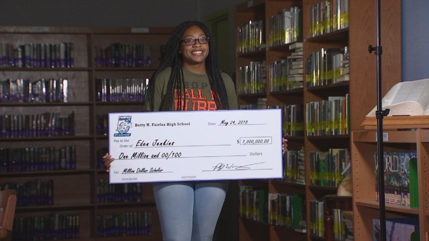 Eden Jenkins earned more than one million dollars in college scholarships. (Source: 3TV/CBS 5)