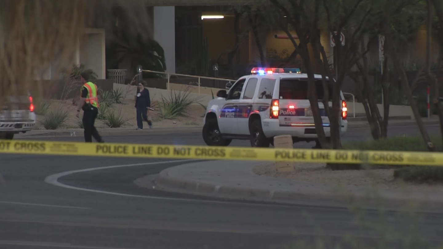 The victim suffered injuries that aren't considered life-threatening. (Source: 3TV/CBS 5)