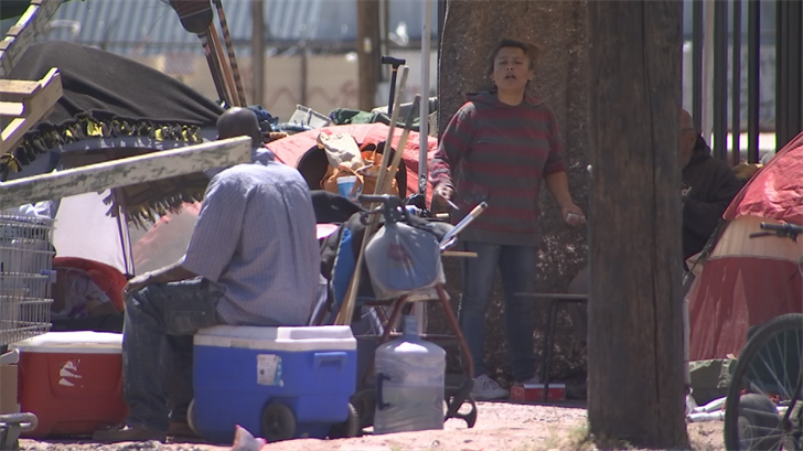 But representatives with Mayor Greg Stanton's office said the homeless population is growing and services to help them are dwindling. (Source: 3TV/CBS 5)